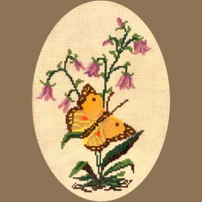 R2232-003 MONIKA DESIGN Канва с нанесенным рисунком 22х32 см