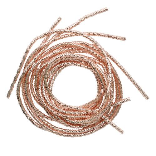 ТБ004НН2 Трунцал витой,розовое золото 2,0 мм, 5 гр/упак Астра