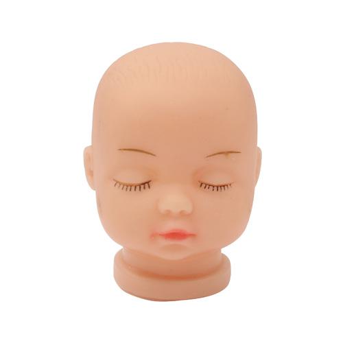 27039 Пластиковая заготовка 'Голова для малыша' 3,3см*4,5см