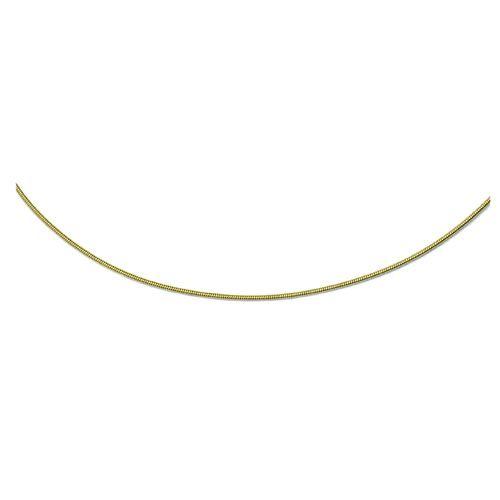 63710023 Основа для ожерелья, 45 см, 2 мм, цвет золота Glorex