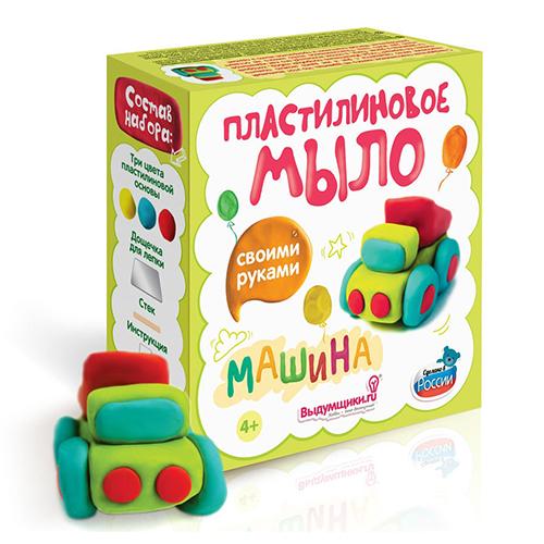 Набор для изготовления пластилинового мыла ' Машинка'