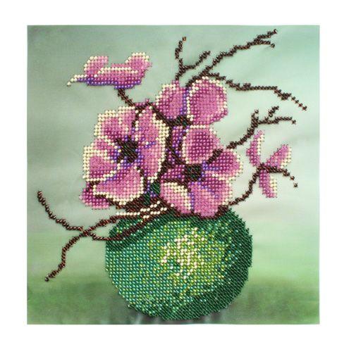 БН-3223 Набор для вышивания бисером Hobby&Pro 'Яблоневый цвет'
