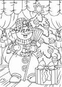 п0000150т Набор для рисования песком с трафаретом 'С Новым Годом' 21*30см