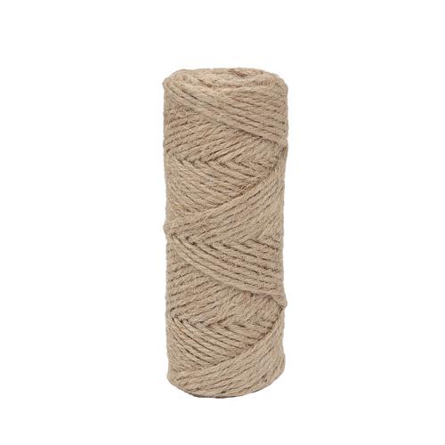 ARS1010088 Веревка джутовая, 2мм*27,3м (30 ярдов)