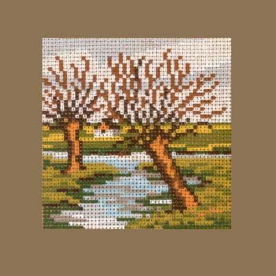 1313-003 MONIKA DESIGN Канва с нанесенным рисунком 13х13 см