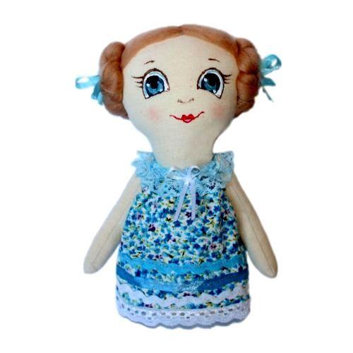 AM100010 Набор для изготовления текстильной игрушки 'Леночка', высота 22 см