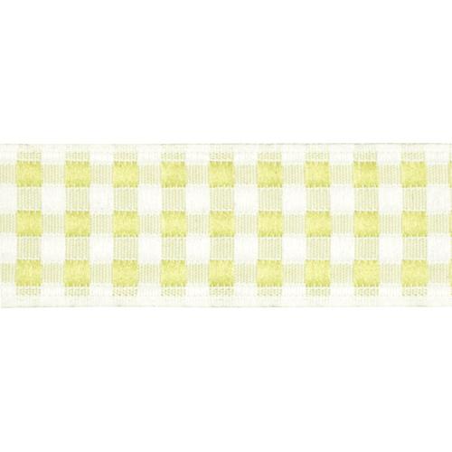 05-65102/20 Тесьма жаккардовая 20мм салат 'клеточка'