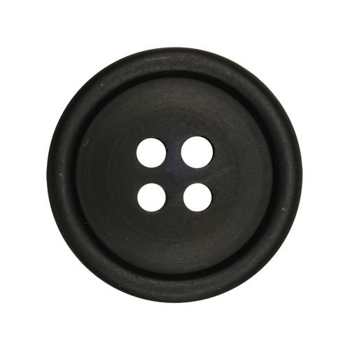 Пуговица мужская костюмная 11309/4 32 (мат/черн)