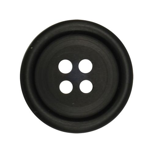 Пуговица мужская костюмная 11309/4 28 (мат/черн)