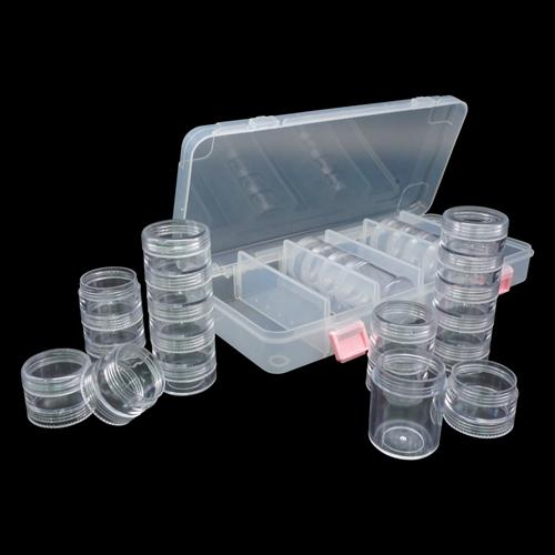 930502 Контейнер для мелочей, 6 секций, 27,9*13,1*4,5 см, Hobby&Pro