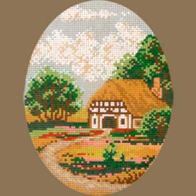 R1824-003 MONIKA DESIGN Канва с нанесенным рисунком 18х24 см