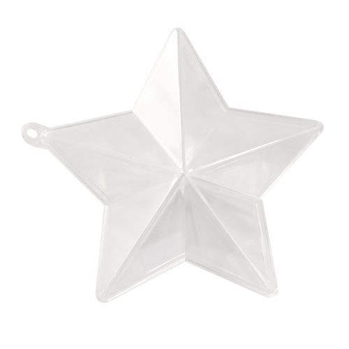 Заготовка для декорирования из пластика 'Звезда', h 10*5см
