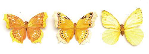 67101004 Бабочки, ассорти, упак./1 шт., Glorex