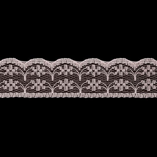 05-38007/22 Кружево нейлон 22мм*25м персик