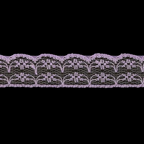05-38011/22 Кружево нейлон 22мм*25м сирень