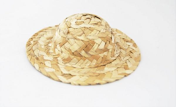 26703 Шляпа W-100 соломенная 10 см уп=1шт