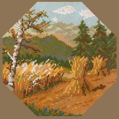A2525-015 MONIKA DESIGN Канва с нанесенным рисунком 25х25 см