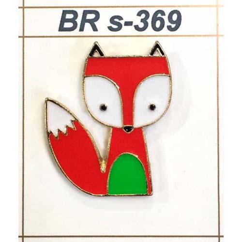 BR s-369 Брошь 2,5см*2,0см