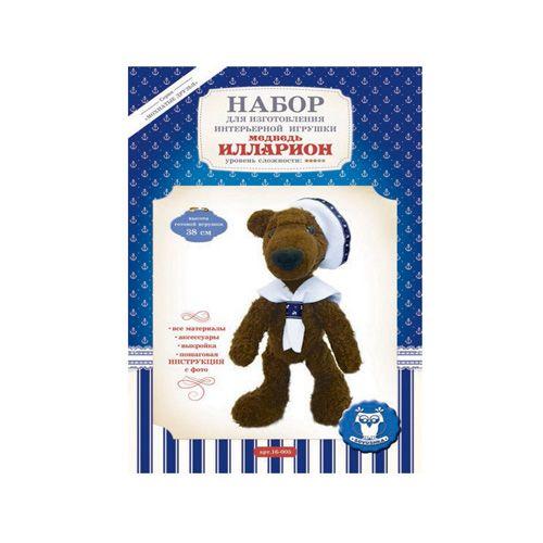 16-005 Набор для изготовления интерьерной игрушки ' Медведь ИЛЛАРИОН', 38см