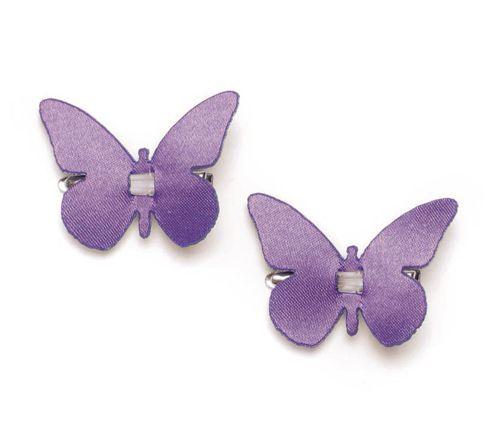 67101104 Бабочки с клипсой Glorex