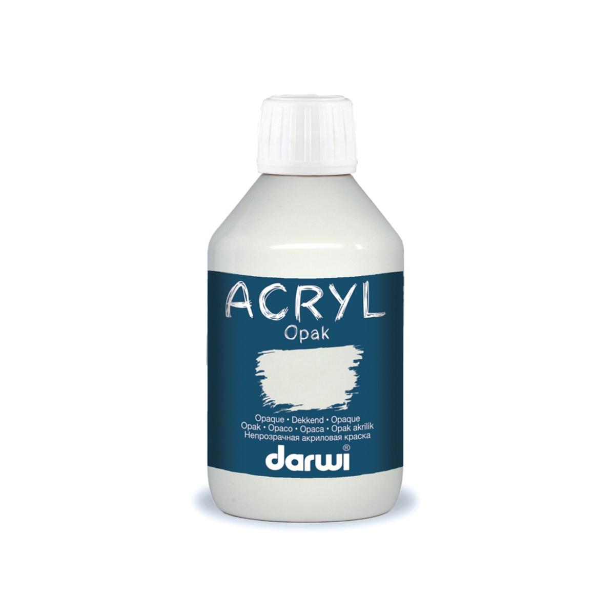 DA0220250 Акриловая краска OPAK непрозрачная Darwi, 250мл