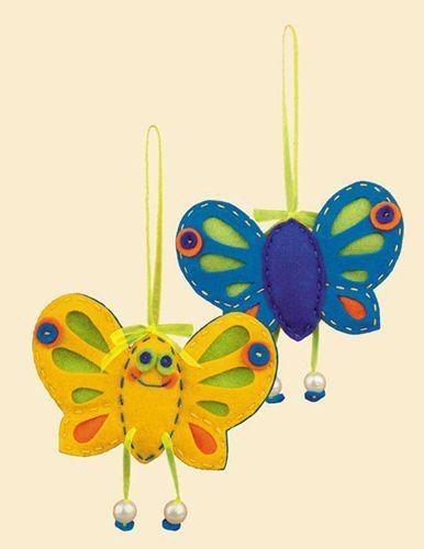 1407АС Набор для рукоделия Riolis 'Солнечная бабочка', 10*10 см