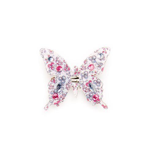 67101201 Бабочки со стразами и клипсой Glorex