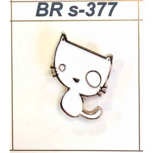 BR s-377 Брошь 1,8см*1,5см