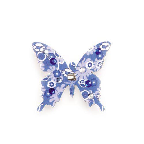 67101203 Бабочки со стразами и клипсой Glorex