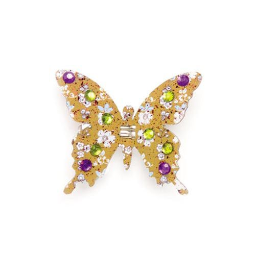 67101205 Бабочки со стразами и клипсой Glorex
