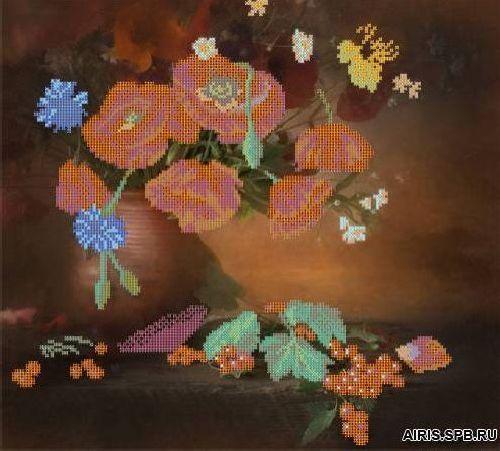 70009 Канва с рисунком Gluriya 'Воспоминания о лете' 36*33 см