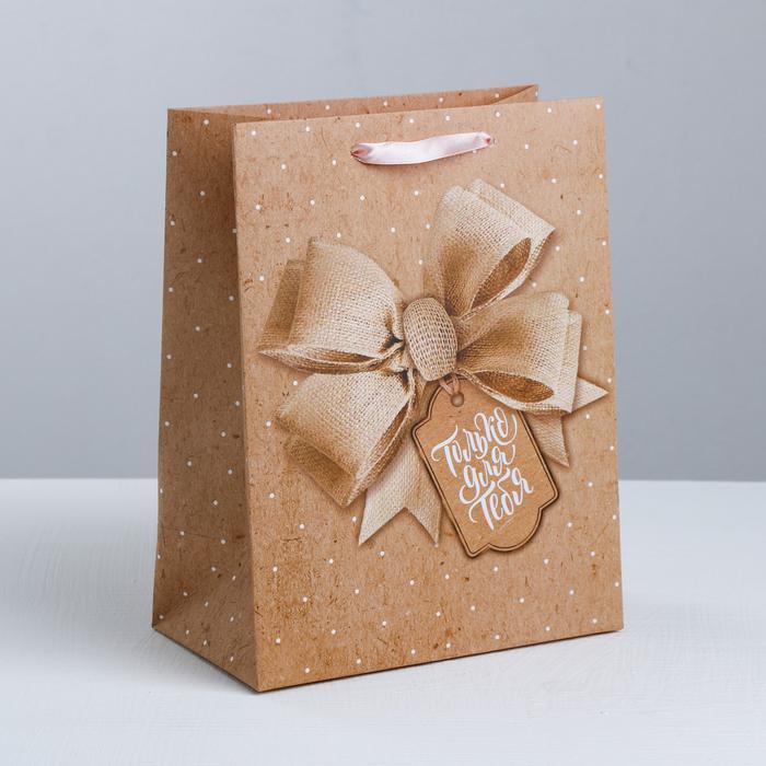 3680633 Пакет ламинированный вертикальный «Твой лучший подарок», S 12 × 15
