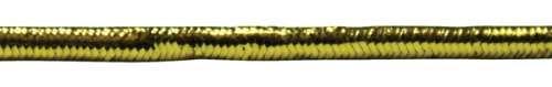 Шнур эластичный 0370-6200 2,0мм металлизированный