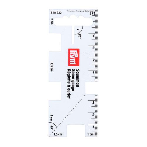 610732 Линейка для разметки припусков Prym