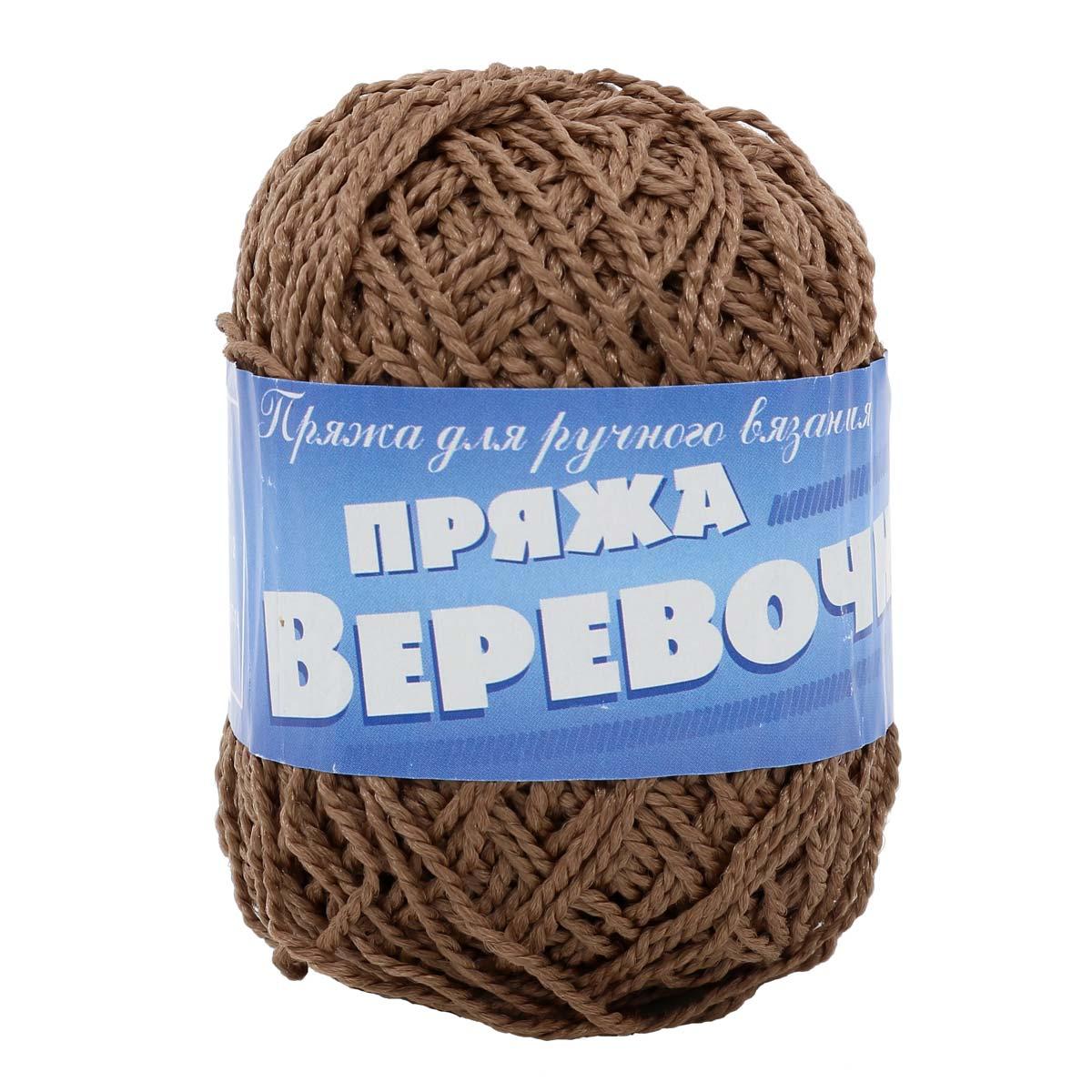 Пряжа Пехорка 'Веревочная' 50гр. 130м. (100% полиэфир)
