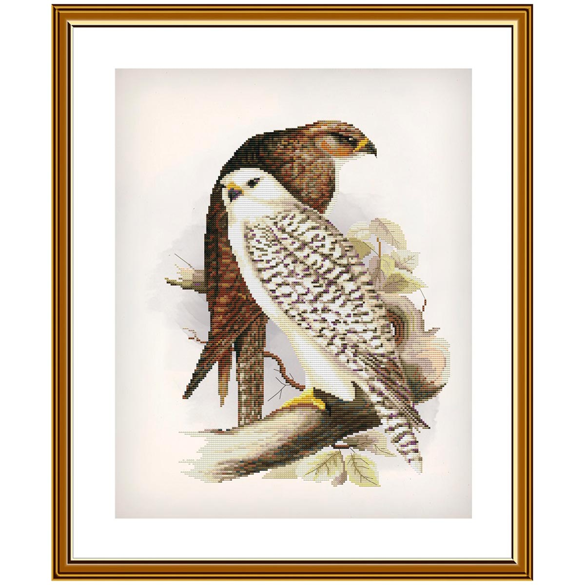 СР2273 Набор для вышивания 'Гордые птицы'28 x36 см