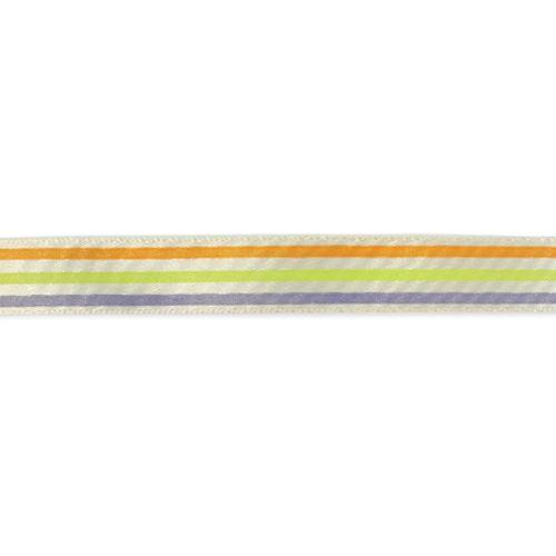 Лента атласная '3 полосы', 15мм*22,5м