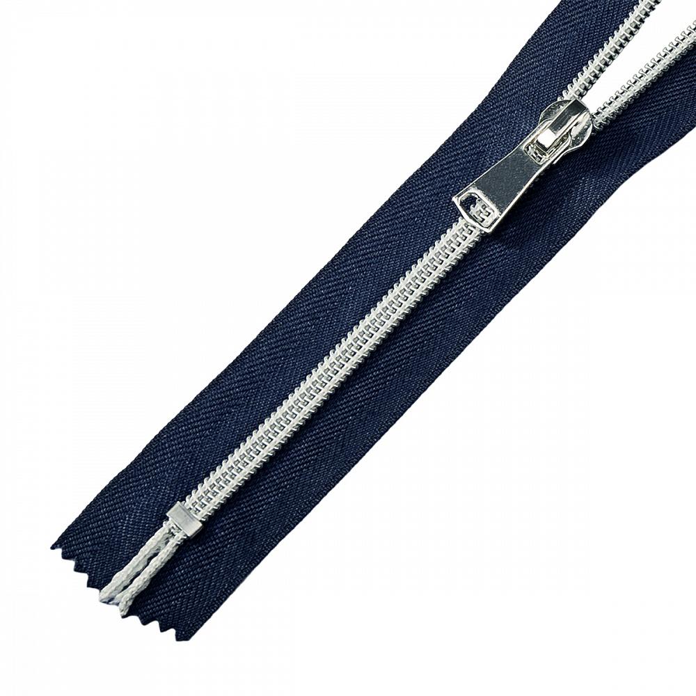 Молния MaxZipper спираль №5 декор. н/р 18см цв.F330 синий, ДЕКN518F330