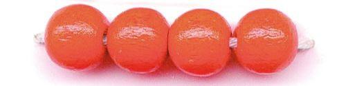 61651004 Бусины деревянные, оранжевый, 4 мм, упак./155 шт., Glorex