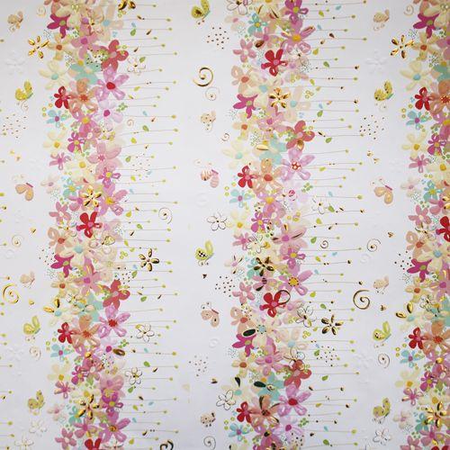 CFWTU6763 Бумага для скрапбукинга 'Цветочки' (коллекция Turnowsky) лист 50х70см Renkalik
