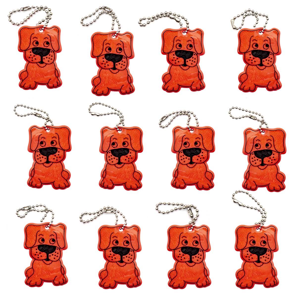 Набор светоотражающих подвесок №13, упак (12 шт)