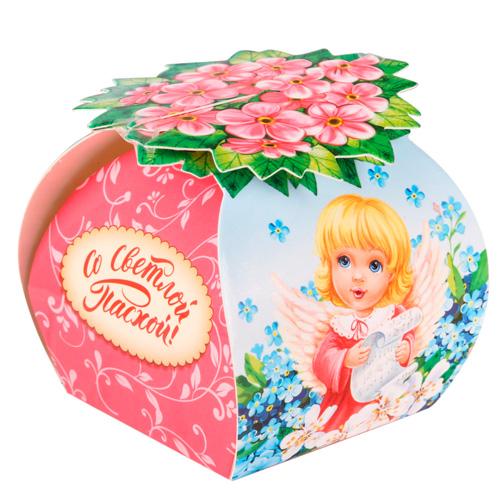 2808837 Коробочка подарочная для яйца 'Ангел', 26,7*19,2 см