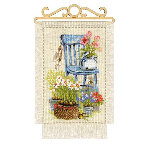 1656 Набор для вышивания Риолис 'Дача. Весна' 20*30см