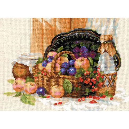 1610 Набор для вышивания Риолис 'Летнее изобилие' 40*30 см