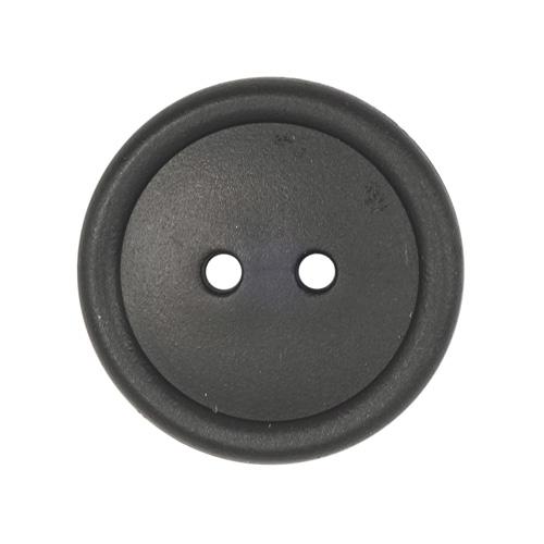 КЛ20-2 Пуговица 20мм, 2пр, ПП, черный