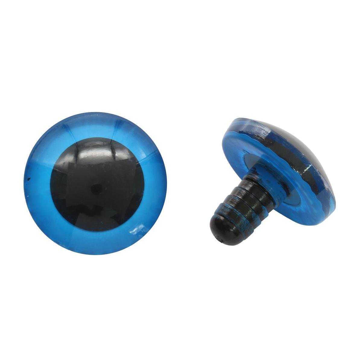 Глаза для игрушек Д 25мм пластик