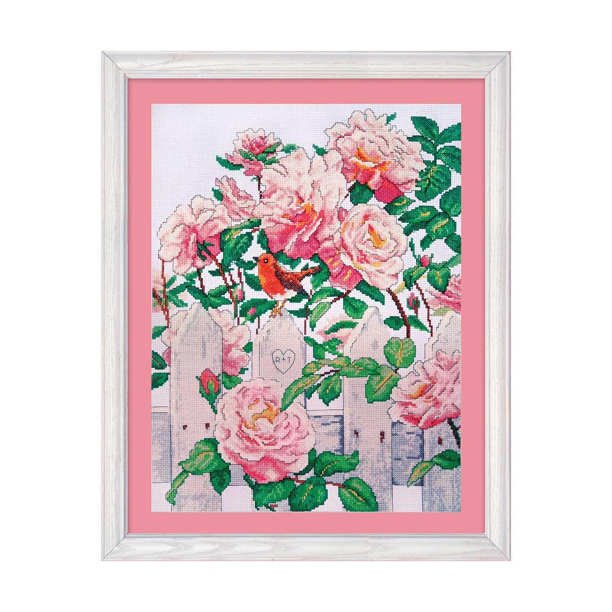 2786 DWC Набор для вышивания 'Провинциальные розы' 30х40 см