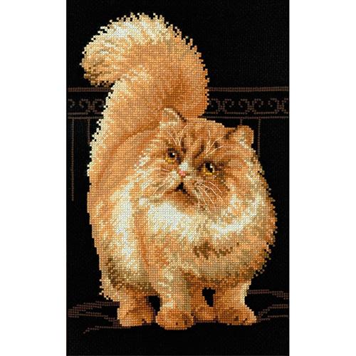 1152 Набор для вышивания Riolis 'Персидский кот', 26*38 см