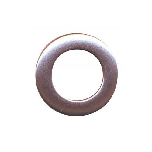 Люверс шторный, d 35 мм, розовый металлик (19), упак./10 шт., Belladonna