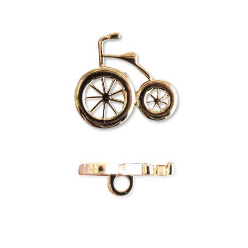 49084 Пуговица 'Велосипед', 21 мм